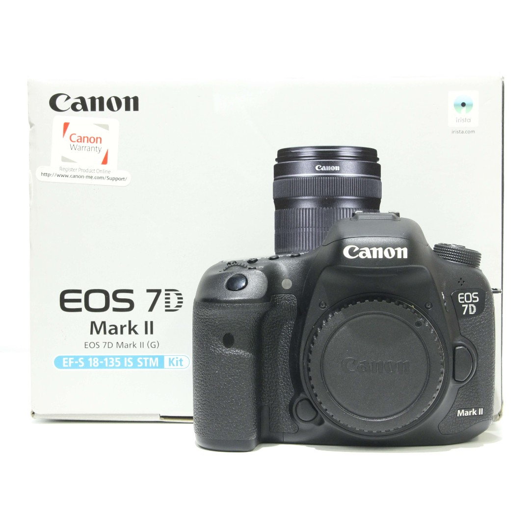 Canon EOS 7D Mark II DSLR Body Only (SC: 10K+)