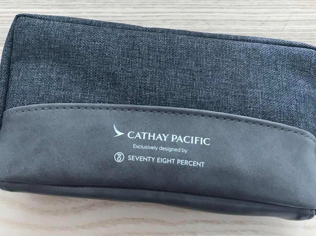 Cathay Pacific Business Class Travel Pouch Bag 國泰商務化妝袋, Brand New 全新