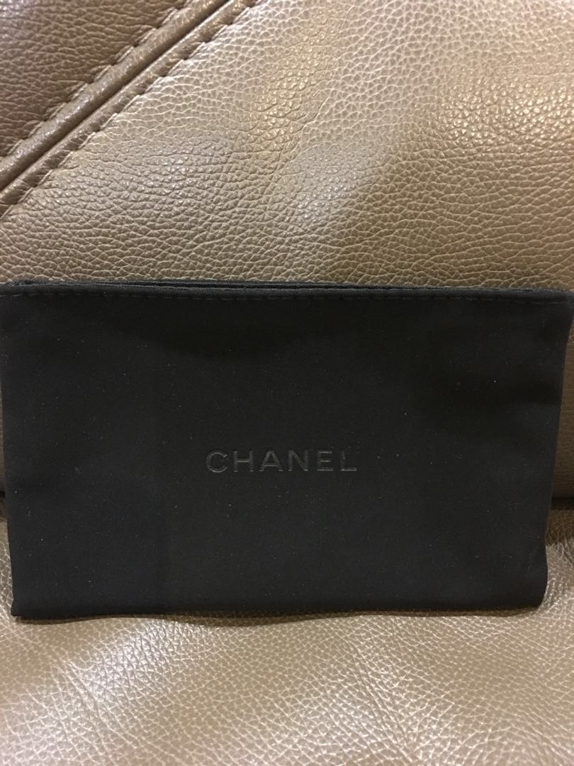95a67dc52efd Chanel Dustbag for Card Holders, Luxury, Accessories on Carousell