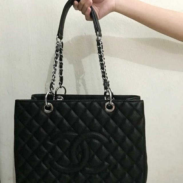 Chanel Gst Discontinued Model Tote Bag Barangan Mewah Beg Dan Dompet Di Carou