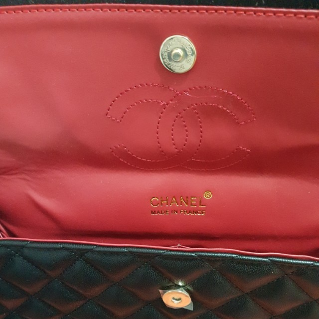 Channel large maxi quilted bag