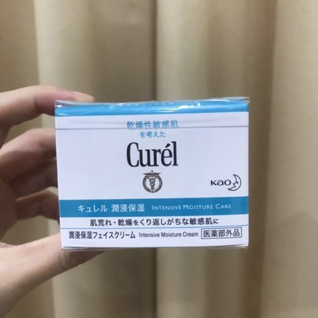 Curel 珂潤 潤浸保濕深層乳霜 40g