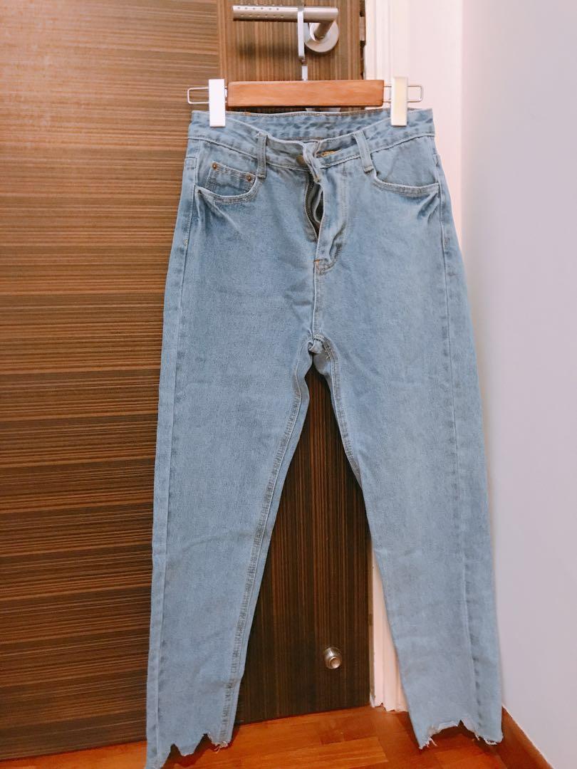 d263073473631a Denim baggy boyfriend Jeans, Women's Fashion, Clothes, Pants, Jeans ...