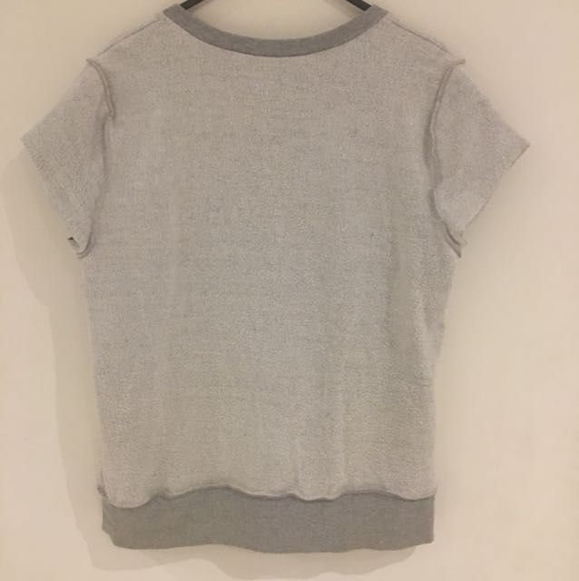 DKNY ACTIVE Size S Fleece Top
