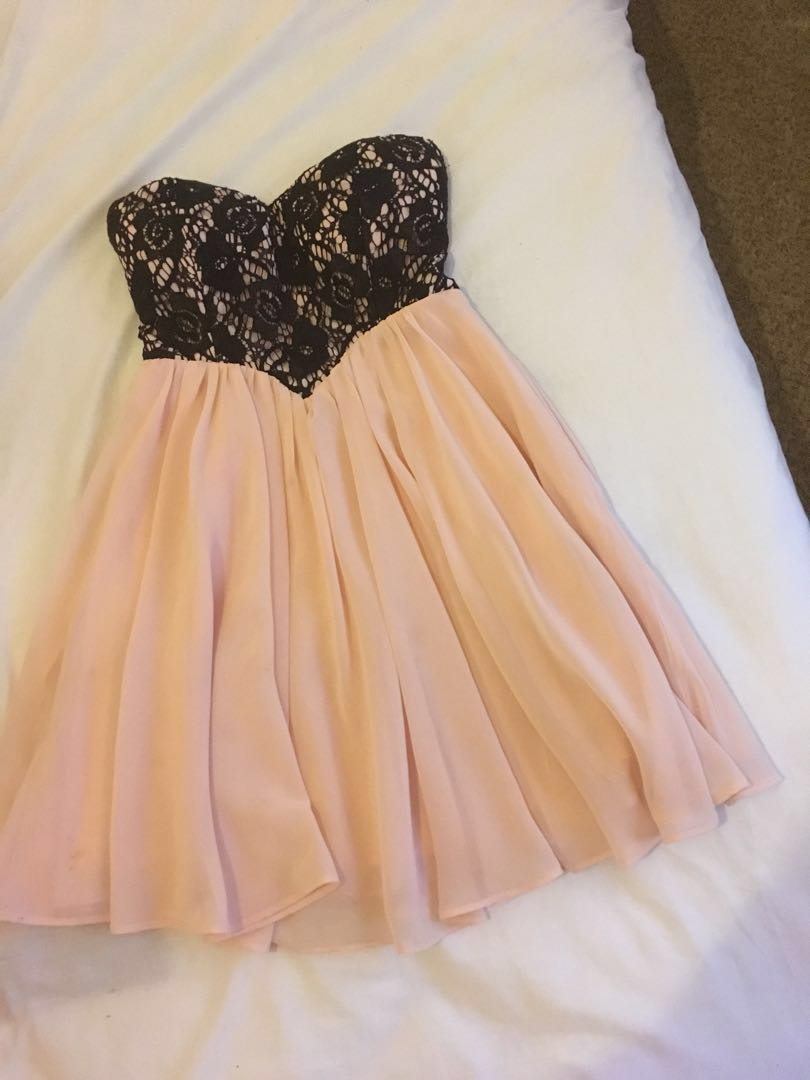 DOTTI pink dress.... up for offers
