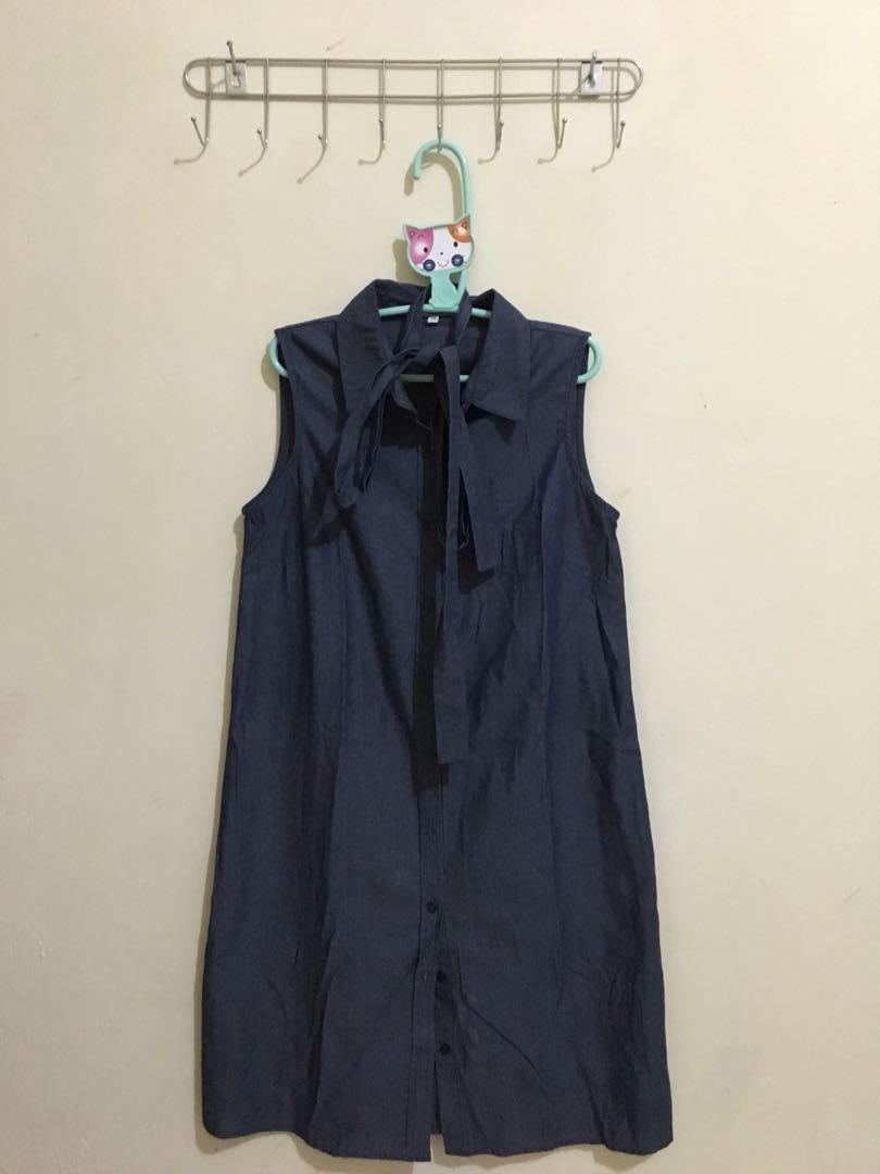 Dress tanpa lengan Colorbox