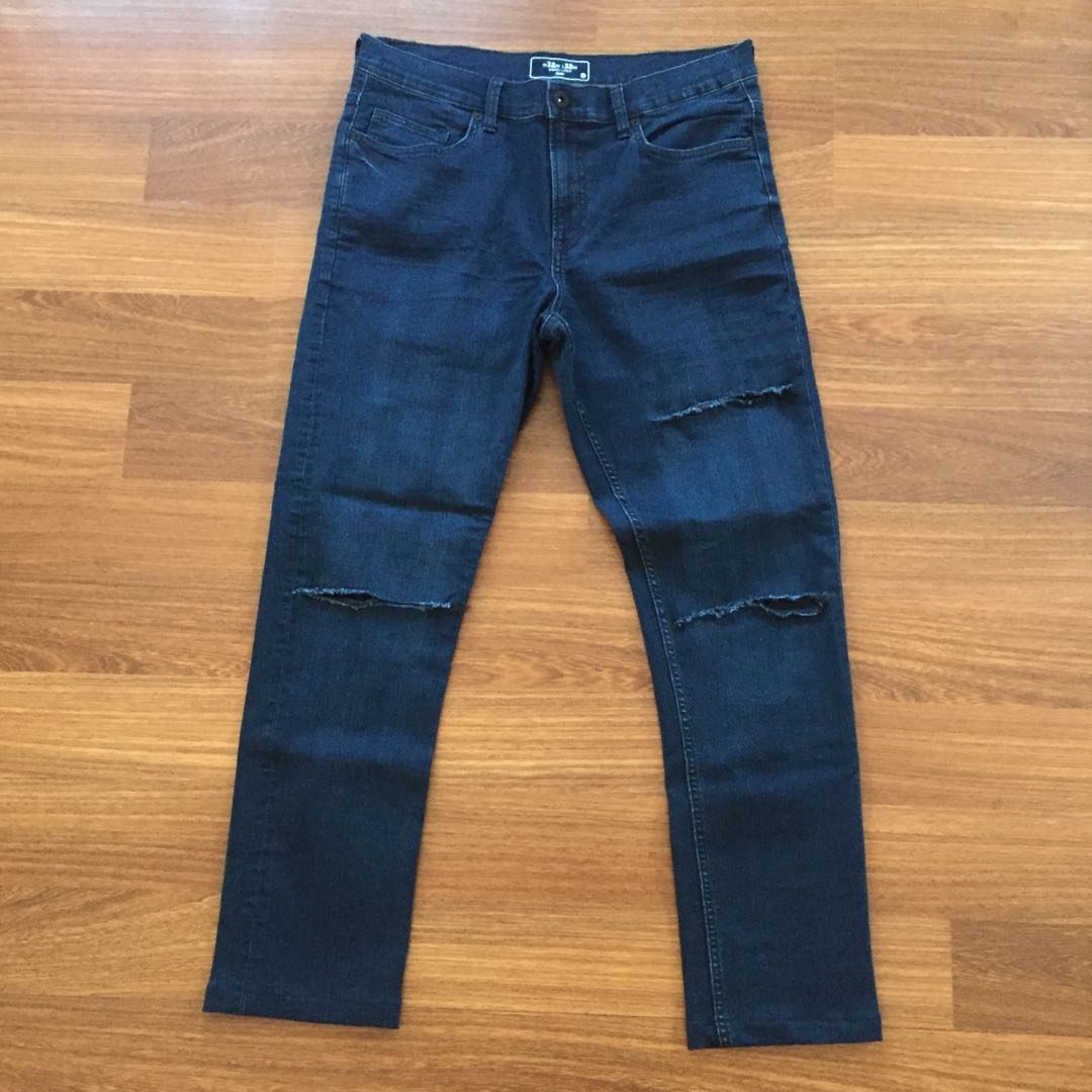 Few pairs of jeans (ripped and regular)