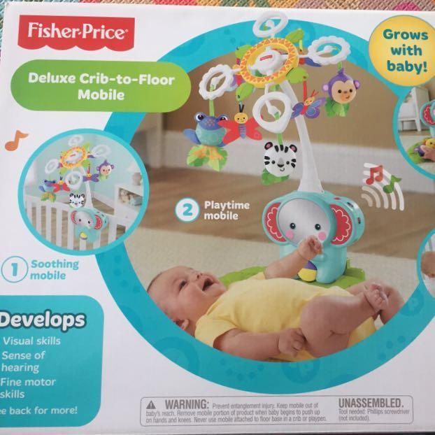 Fisher Price Deluxe Crib To Floor
