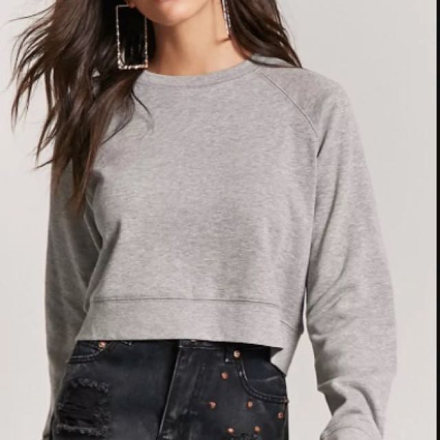 Forever21 Cropped Sweatshirt
