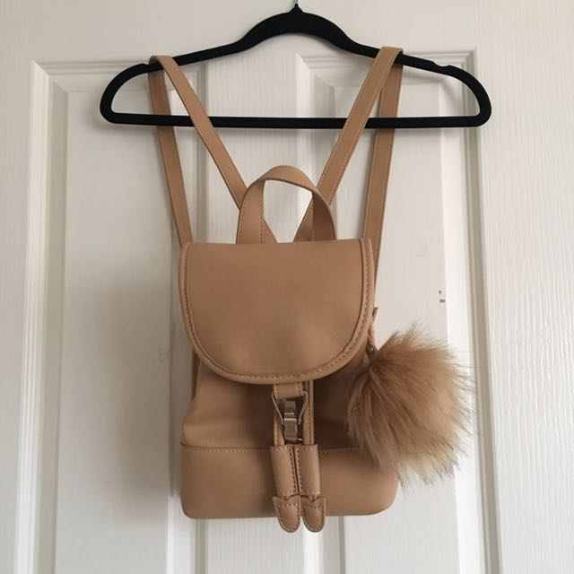 Forever New Beige Backpack
