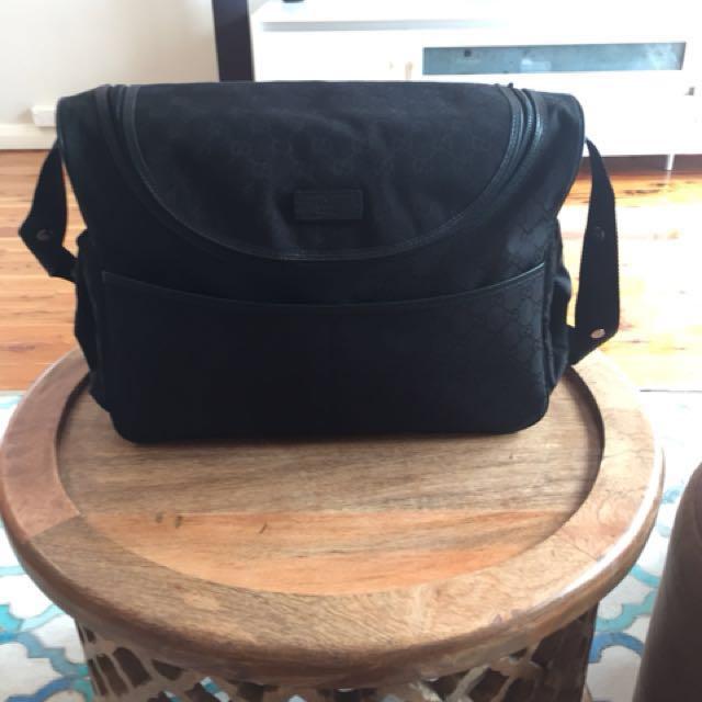 Genuine Gucci GG Diaper bag...With receipt...