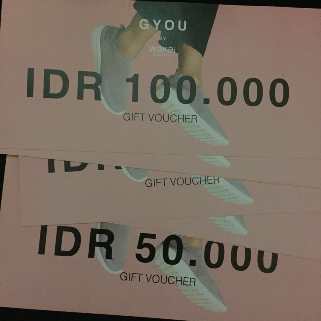 GIFT VOUCHER GYOU BY WAKAI