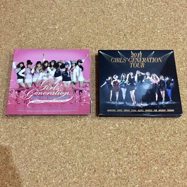 Girls' Generation Concert Albums