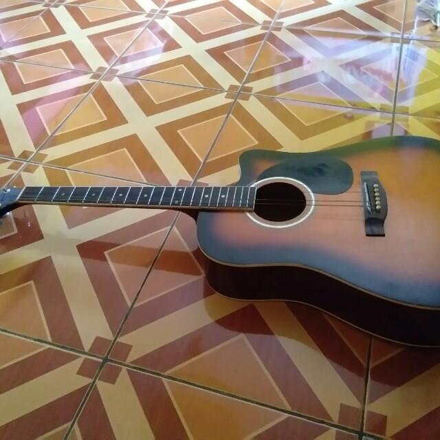 Gitar Caraya Musik Media Alat Di Carousell