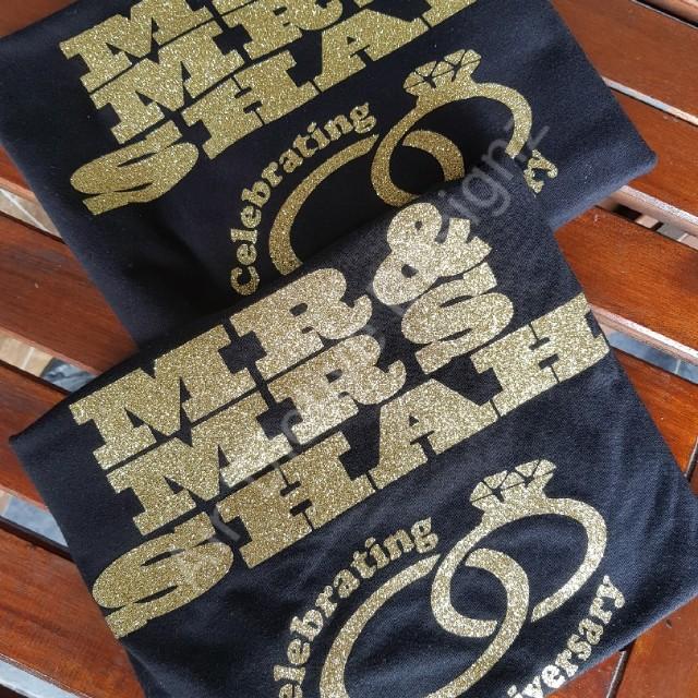 e903c3b5c Glitter Vinyl T-shirt Printing, Men's Fashion, Clothes on Carousell