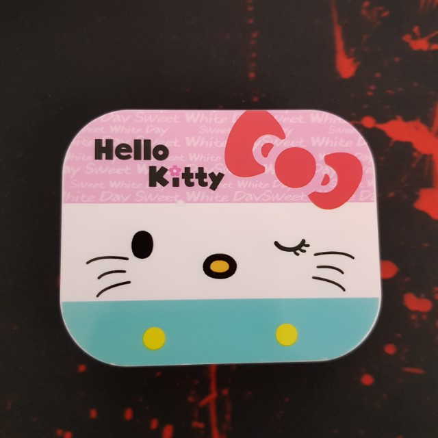 Hello Kitty Contact Lens Case with Mirror