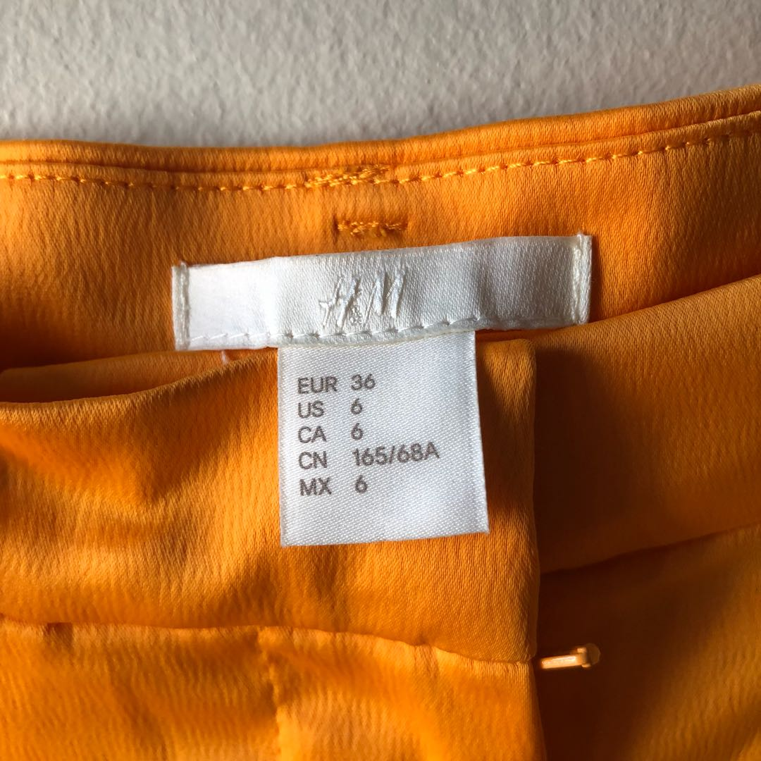 H&M Shorts — Yellow