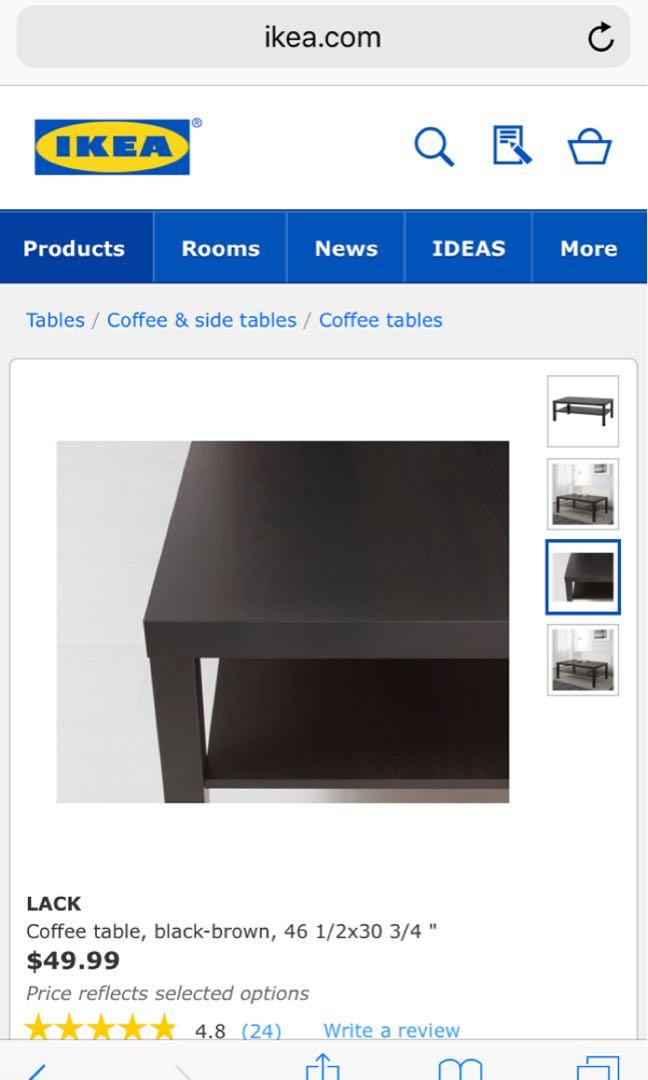 IKEA center table used
