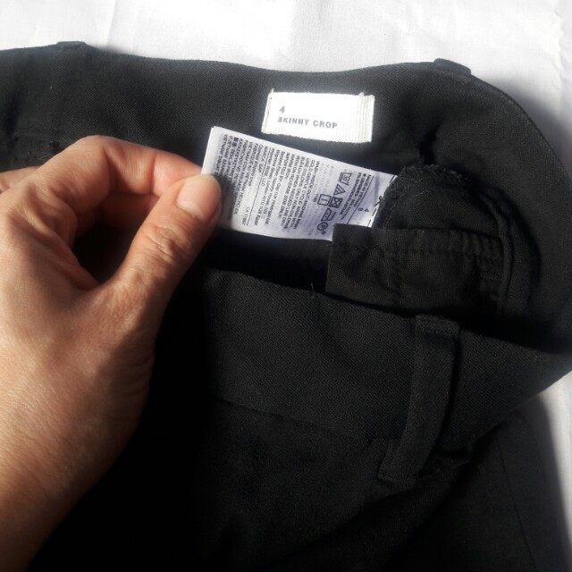 Imported Black Pants