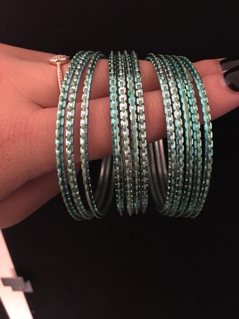 Indian outfit bracelets 12pc