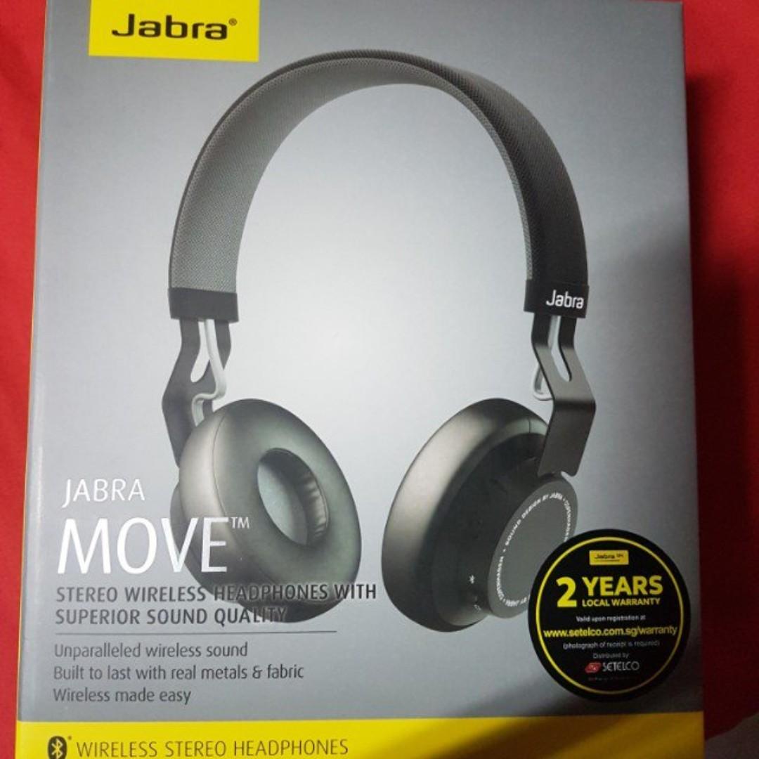 Jabra Move Wireless Headphones Electronics Audio On Carousell