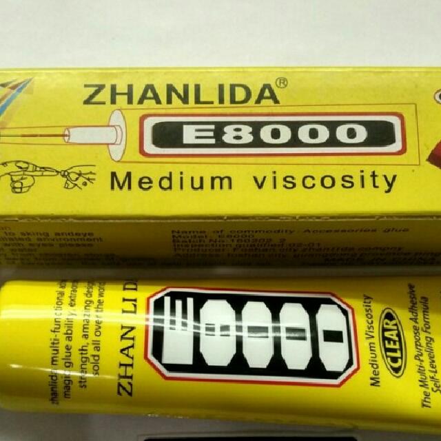 Lem Touchscreen Zhanlida E8000 50ml Liquid Glue optical clear