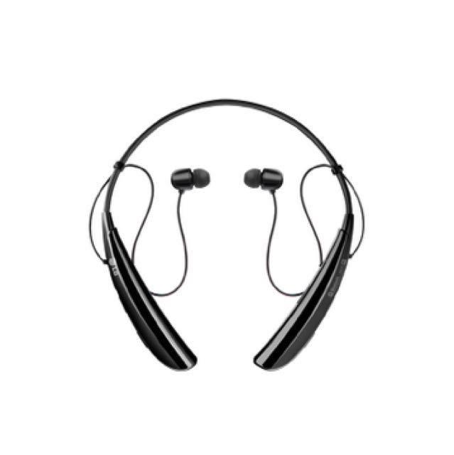 LG TONE Pro™ 藍牙立體聲耳機( 黑)  HBS-750 Balck