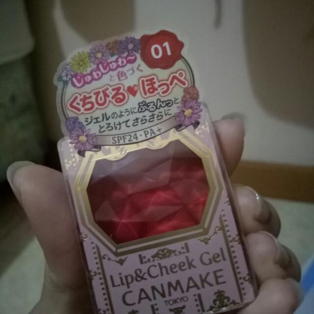 Lip & Cheek Gel Canmake Tokyo