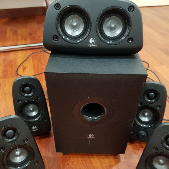 Logitech Z506 5 1 surround speakers, Electronics, Audio on