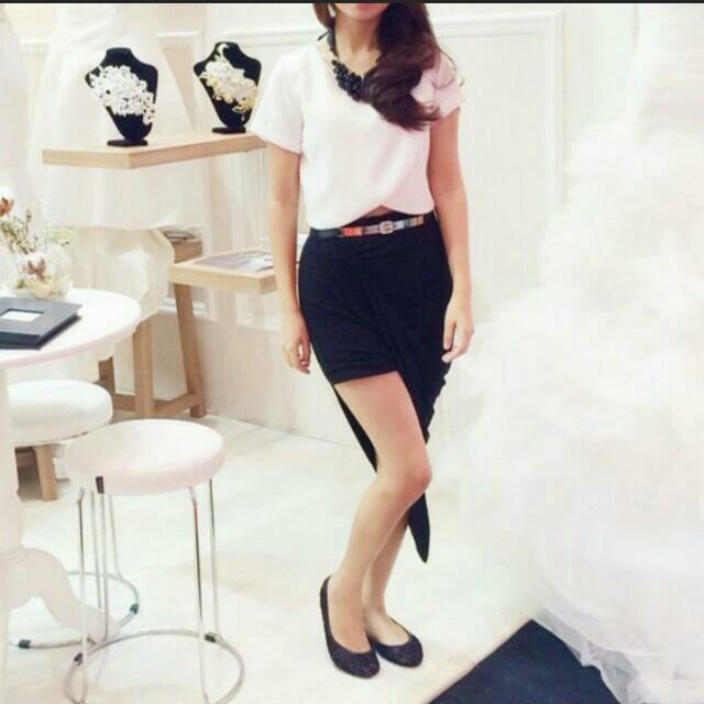 Lookboutiquestore Asymmetric Skirt