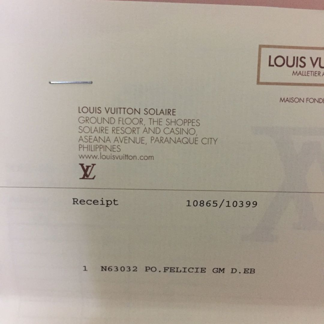 Louis Vuitton Felicie -- 100% Authentic