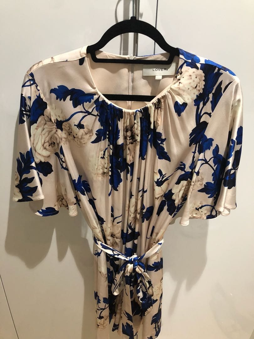 Lover the Label Watercolour Romper Playsuit Size 10