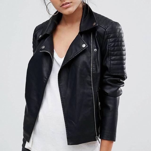 M boutique leather jacket XS