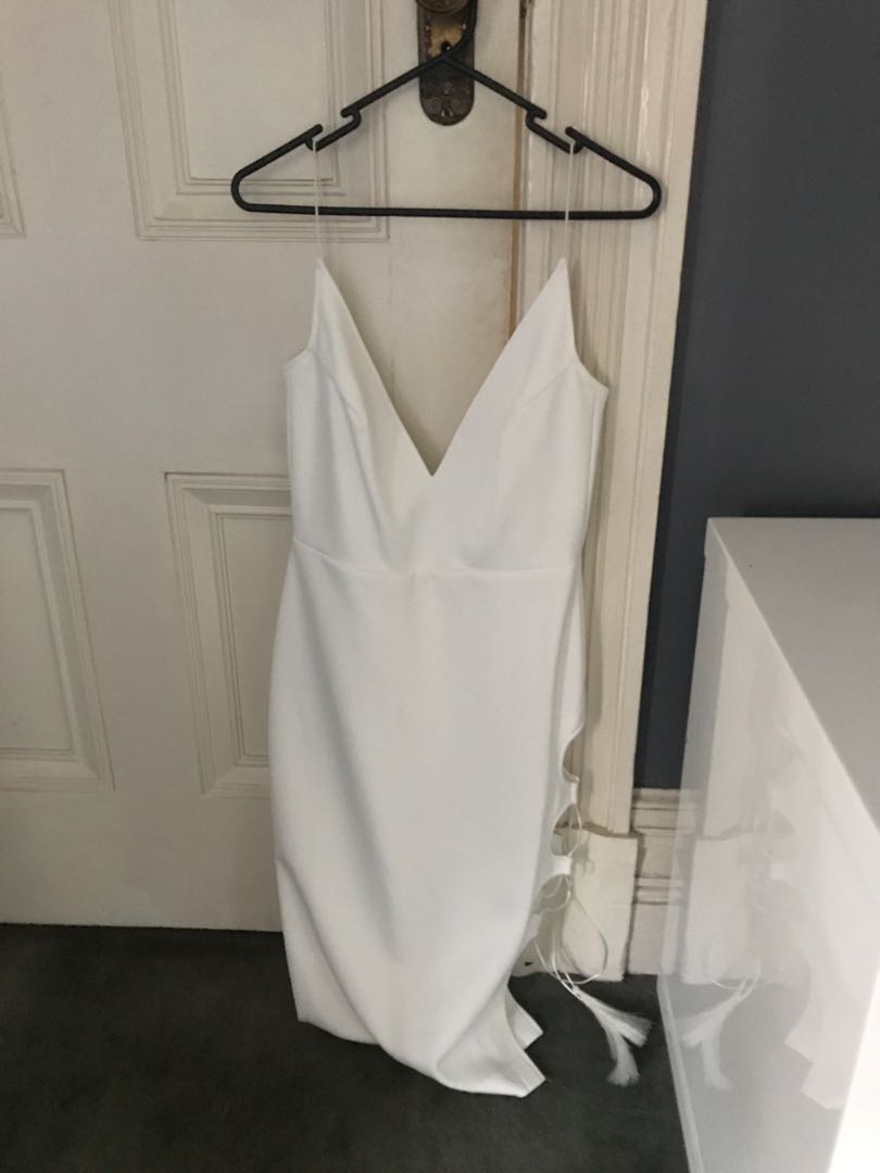 Maurie and eve white dress 10