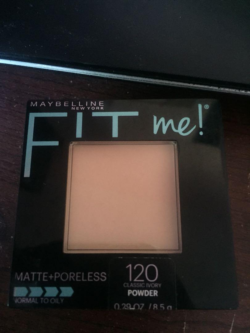 Maybelline Fit Me Matte Poreless Pressed Powder