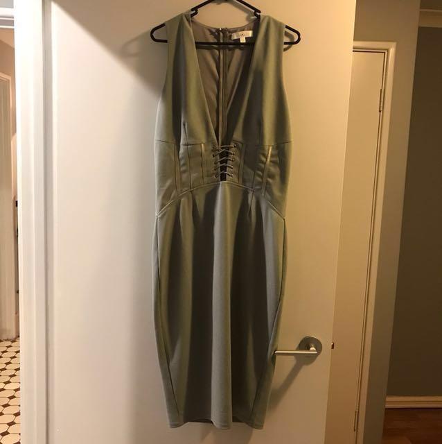 Missguided corset dress