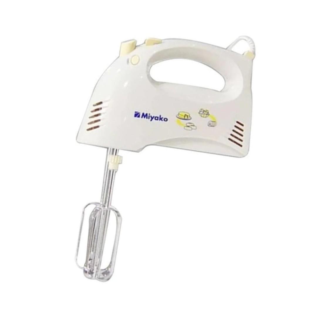 Miyako HM-620 Hand Mixer Putih