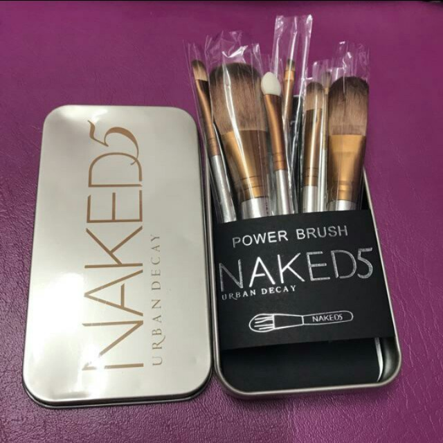 Naked5 Makeup Brush Set
