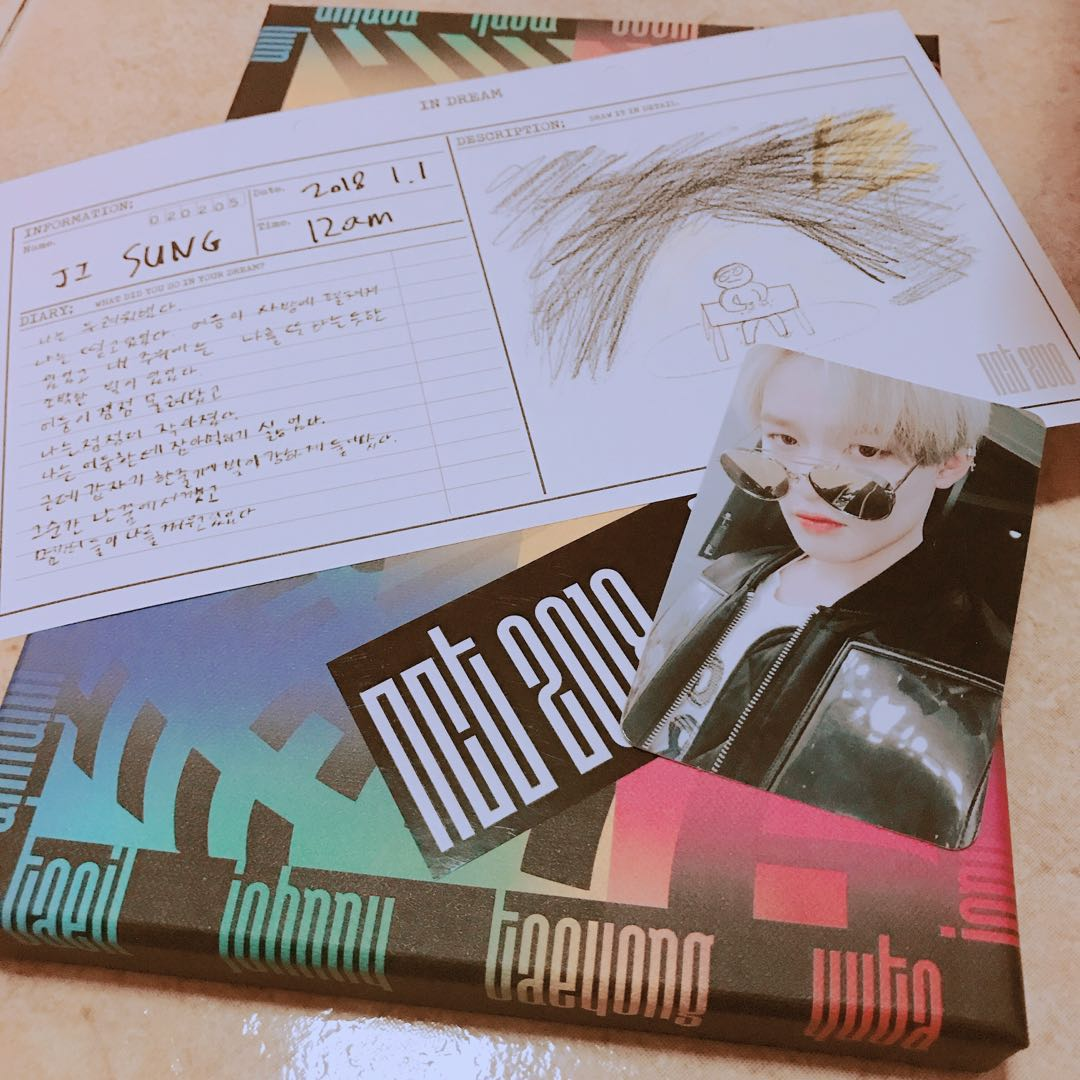 Jisung Dream Ver  NCT 2018 Empathy Official Photocard Photo Card