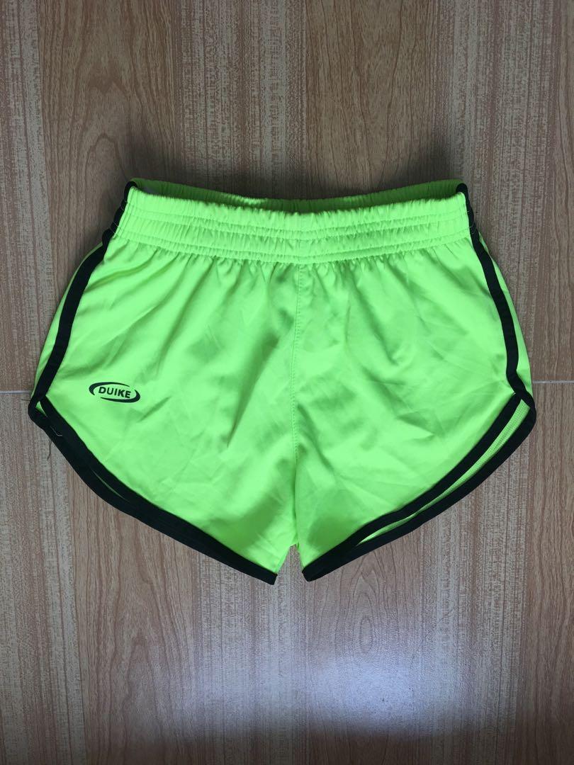 Neon Green Dolphin Shorts
