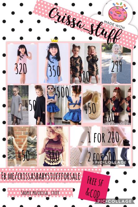 New arrivals!! Kids ootd imported