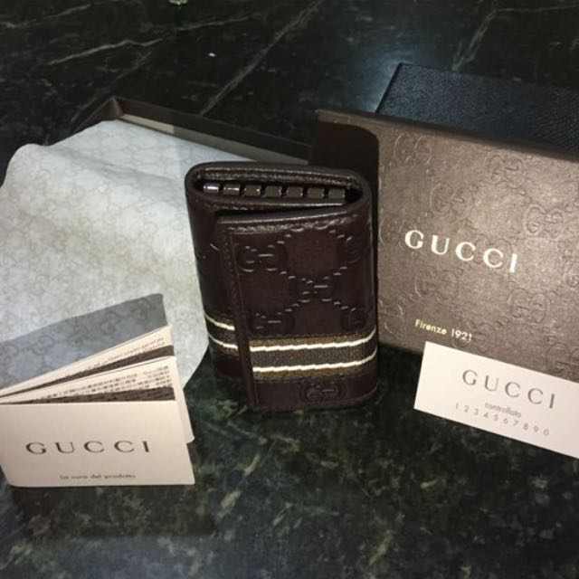 cfd1cd7bc60 NEW Gucci Key Pouch  Authentic