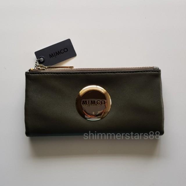New! Mimco Mim Fold Wallet RRP$179.00 FREE POSTAGE