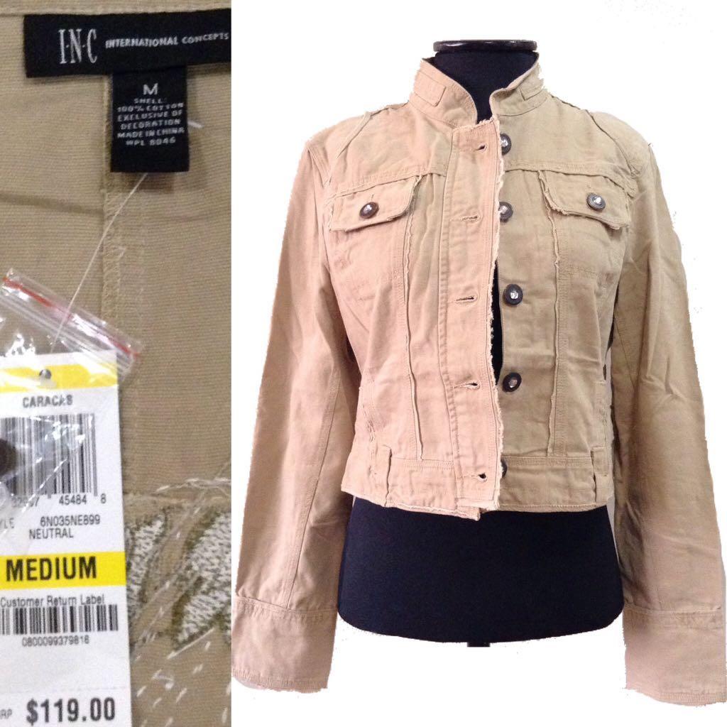 New:freeSF Cream jacket