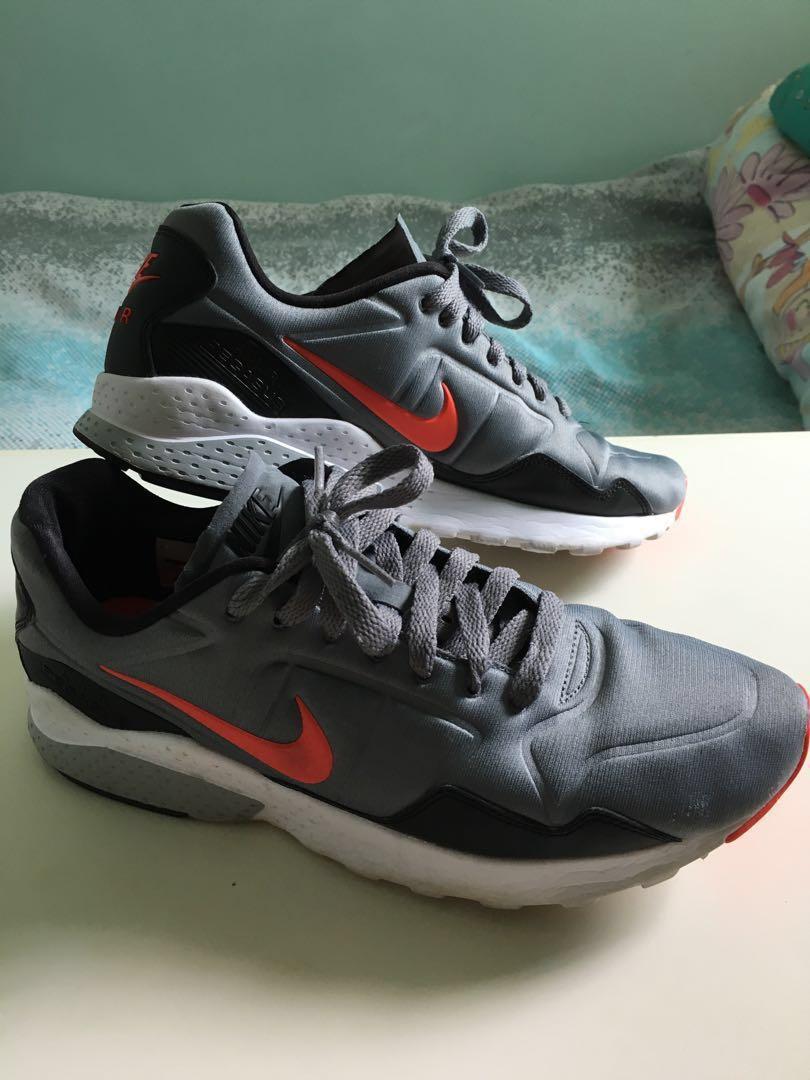 meilleur site web 81715 e6eaa Nike Air Zoom Pegasus 92 (Grey/Bright Crimson), Men's ...