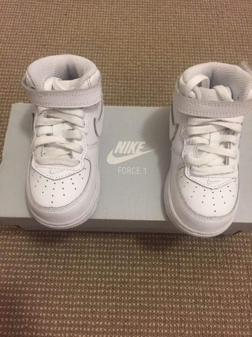 Nike Airforce 1 Toddler Shoes size 6C