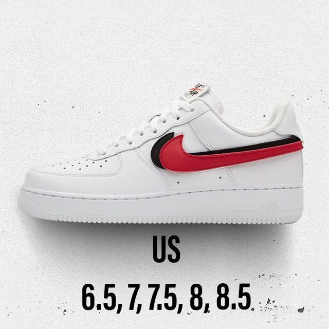 brand new bc6eb a13be ✓️Nike✓️Air Force 1 Low Swoosh Pack All-Star 2018 (White), Men s Fashion,  Footwear on Carousell