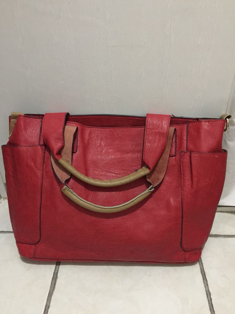 No name bag full leather