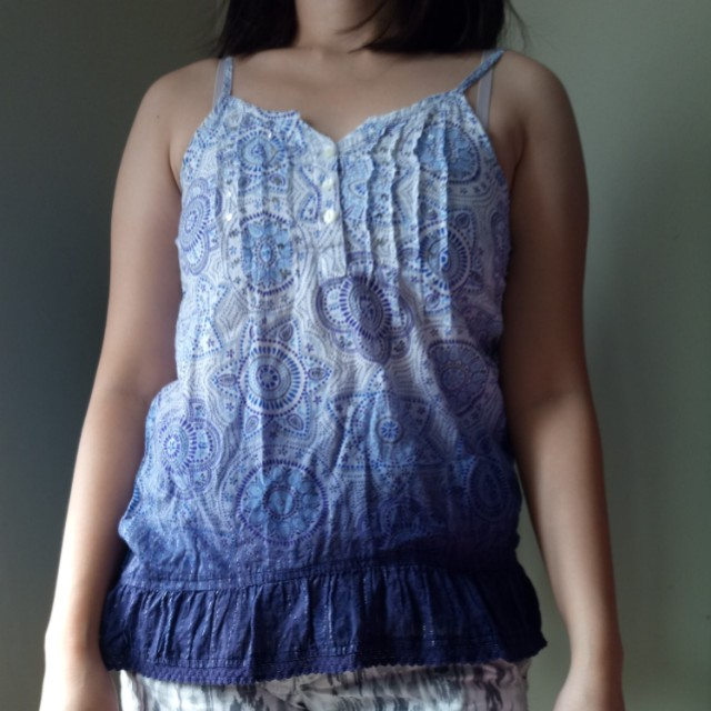 Ombre Blue Top