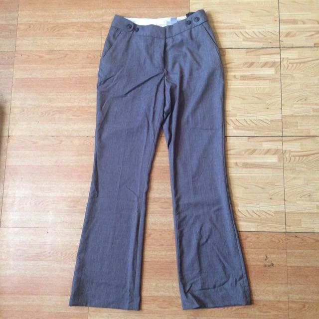 Original H&M Gray Trousers/Slacks